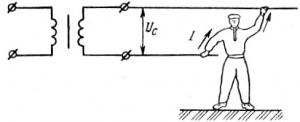 Поражение электрическим током при сварке